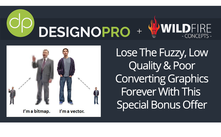 DesignoPro High Quality Vector Graphic Creator & DesignoPro Bonus!