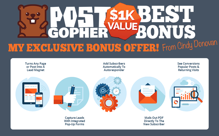 Post Gopher Review, My 19 Bonuses & Coupon